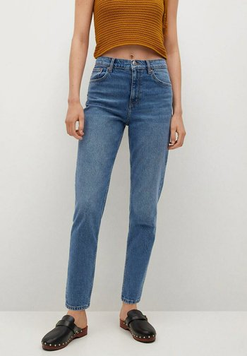 MOM FIT - Jeans Tapered Fit - medium blue