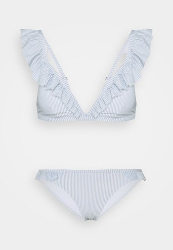 PCGWEN SET - Bikini - kentucky blue/cloud dancer