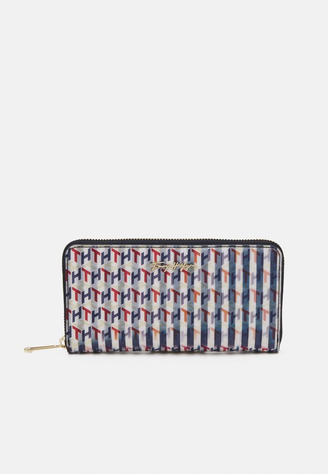 ICONIC LARGE LENTICULAR - Wallet - blue
