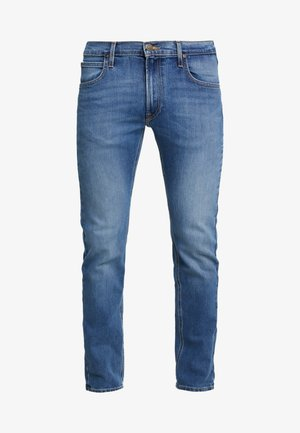 DAREN ZIP FLY - Jeansy Straight Leg - blue used