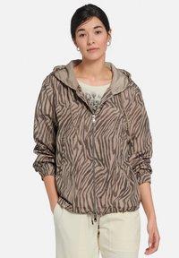 MARGITTES - Light jacket - taupe schwarz - 0