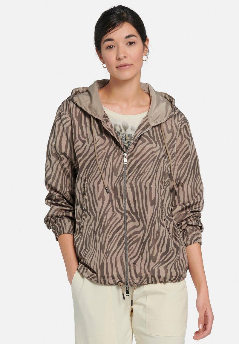 MARGITTES - Light jacket - taupe schwarz