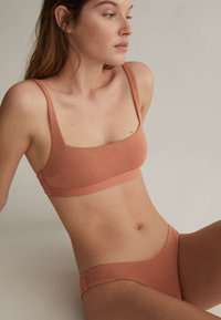 OYSHO - Bikini top - brown - 4