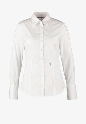 LANGARM - Button-down blouse - weiß