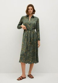 Mango - Shirt dress - khaki - 0