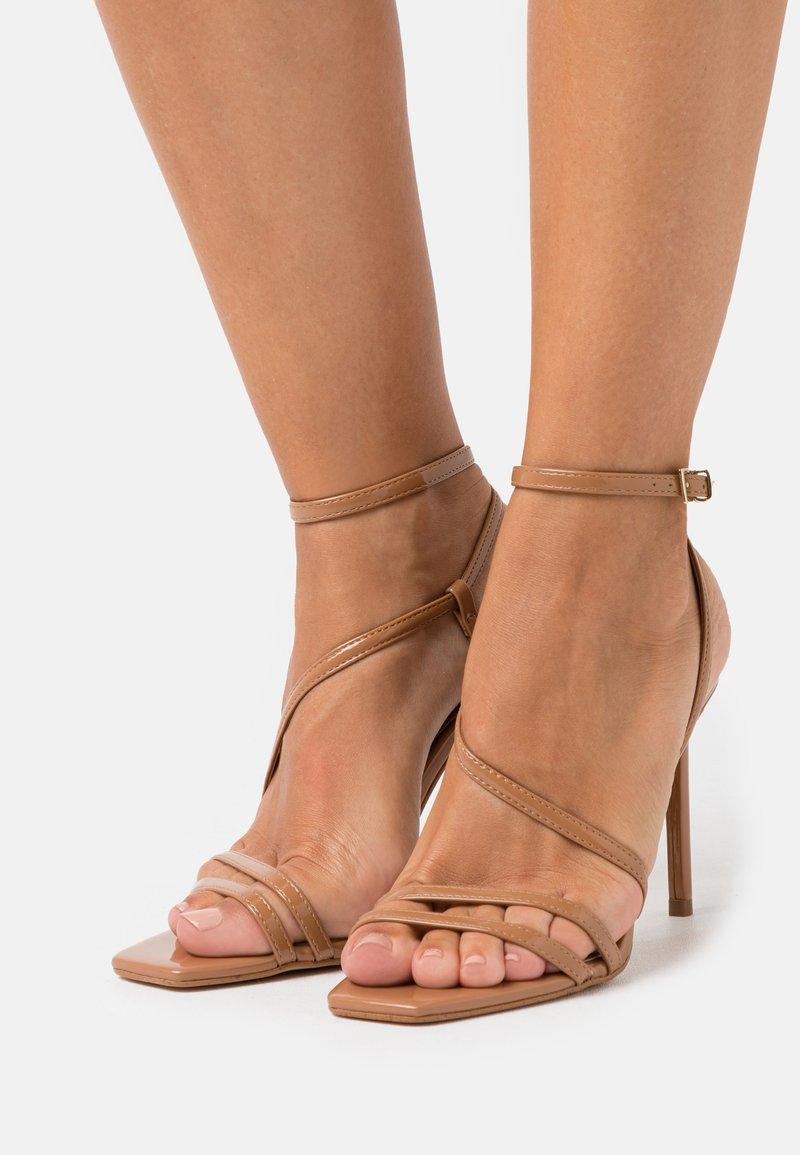 ALDO - FRELIAN - High heeled sandals - bone