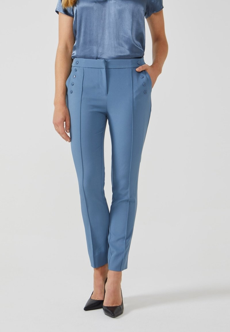 Aaiko - SOLLO VIS 345 - Trousers - steel blue a