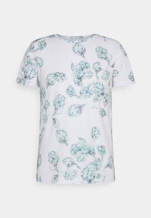 ALLOVER FOTOPRINT - T-shirt med print - white