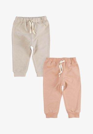 2PACK - Teplákové kalhoty - rose gold
