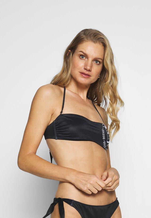 DOLY TANK - Bikini pezzo sopra - black