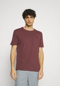 Pier One - 5 PACK - T-shirt - bas - dark grey/dark blue/olive - 3