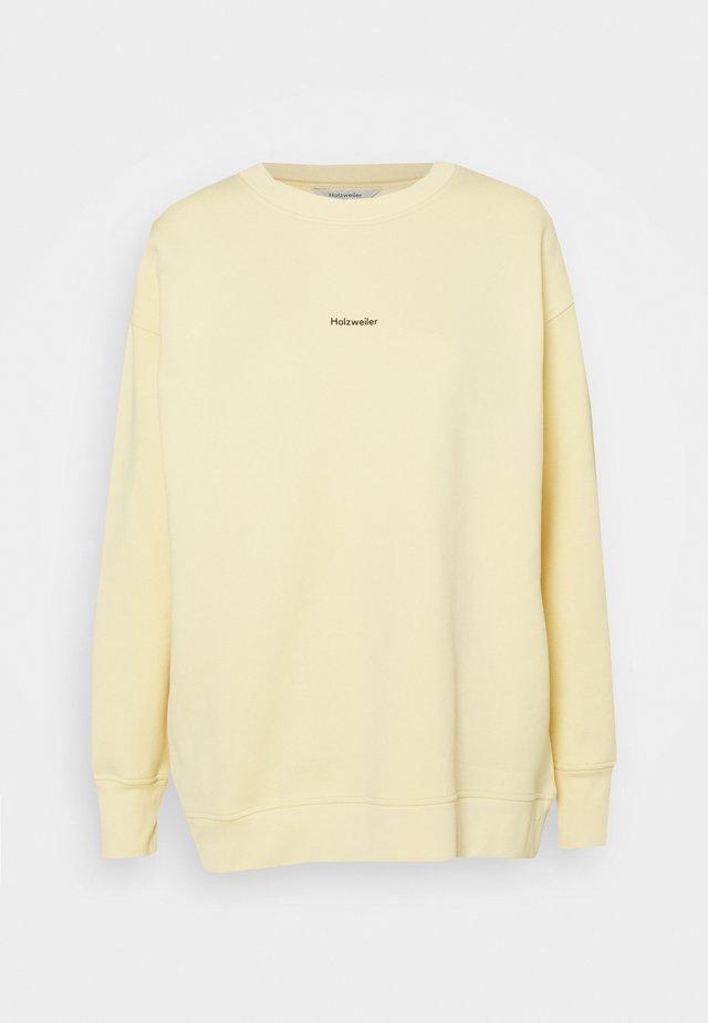 REGULAR CREW - Mikina - yellow