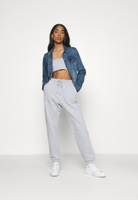 Missguided - SET - Top - grey - 1