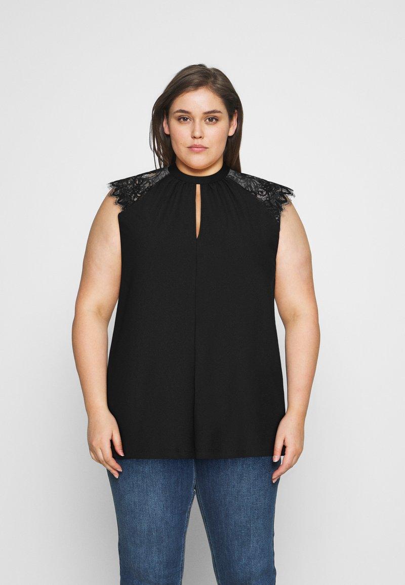 Vero Moda Curve - VMMILLA TEE  - Topper - black