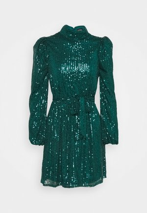 Cocktail dress / Party dress - emerald green