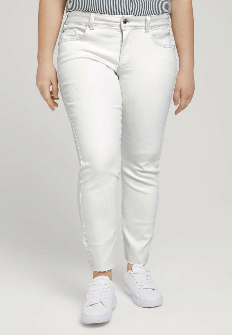 MY TRUE ME TOM TAILOR - Slim fit jeans - whisper white