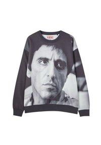 PULL&BEAR - Sweatshirt - mottled black - 0