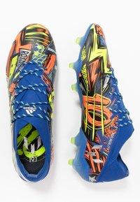 adidas Performance - NEMEZIZ MESSI 19.1 FG - Voetbalschoenen met kunststof noppen - team royal blue/silver metallic/solar yellow - 1