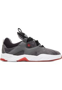 DC Shoes - Skate shoes - GREY/BLACK/RED - 4