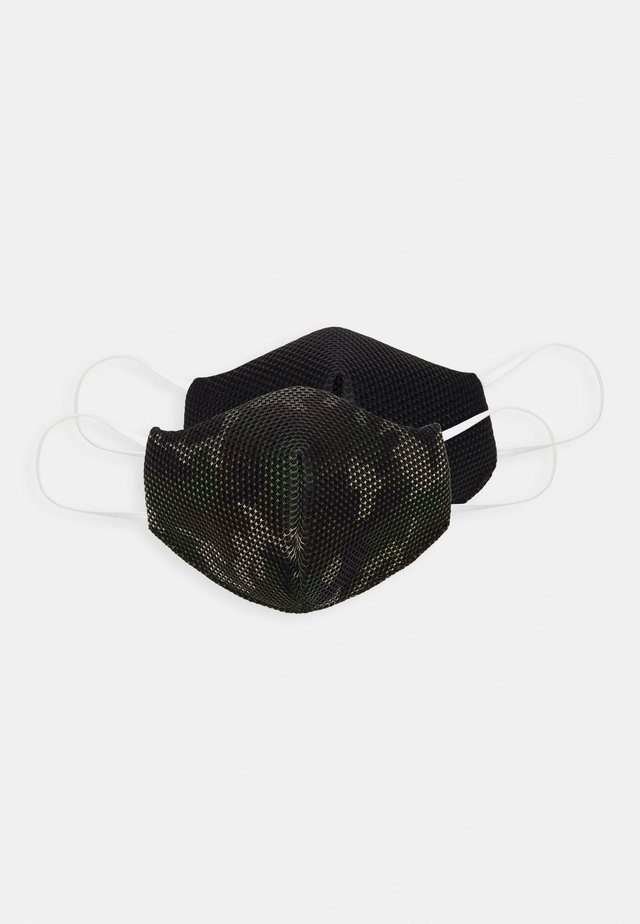 COMMUNITY MASK 2 PACK - Maschera in tessuto - khaki/black