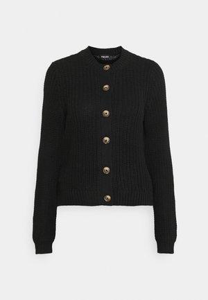 PCPETULA CARDIGAN - Cardigan - black