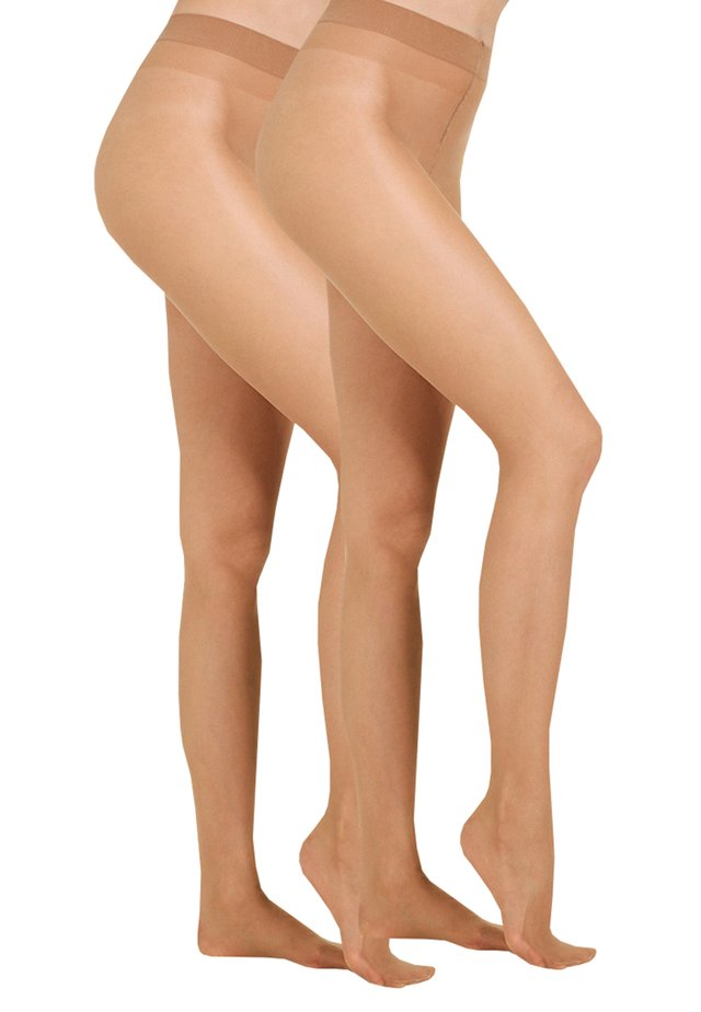 20 DEN EVERYDAY 2 PACK - Tights - make-up