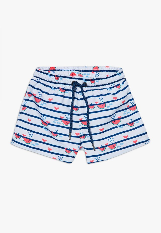 STRIPE WATERMELON WHALE SWIM  - Swimming shorts - multi