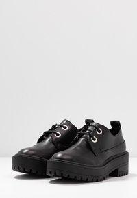 Even&Odd - Šněrovací boty - black - 4
