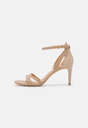 KIMBERLY  - Sandals - camel