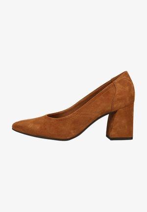 Classic heels - mittelbraun 027