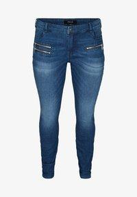 Zizzi - SANNA - Jeans Skinny Fit - blue - 3