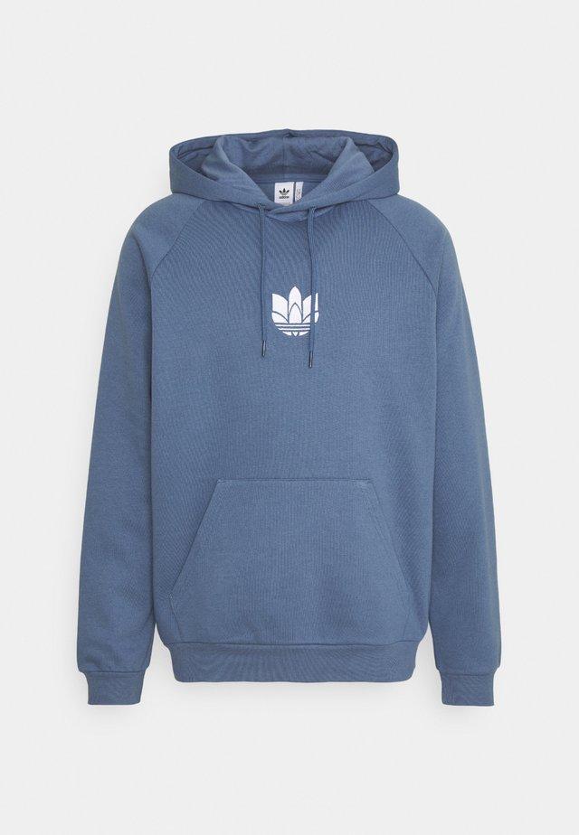TREFOIL HOOD UNISEX - Sweatshirt - crew blue
