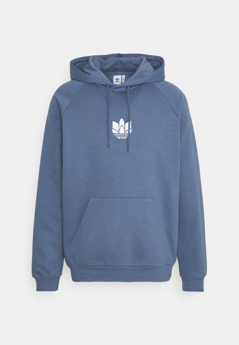 adidas Originals - TREFOIL HOOD UNISEX - Felpa - crew blue
