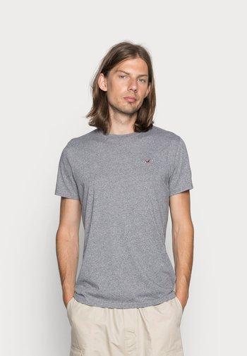 CREW CHAIN 3 PACK - T-shirt basic - black/white/grey