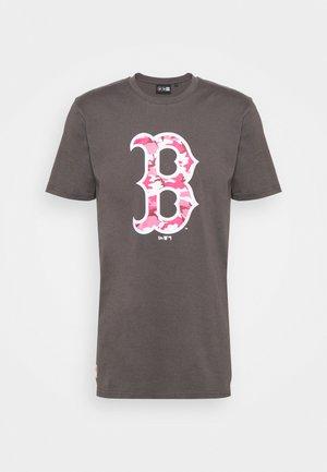 BOSTON RED SOX MLB CAMO TEE - Club wear - grey heather