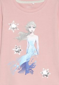 Name it - DISNEY FROZEN ELSA - Langarmshirt - silver pink - 3