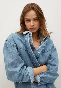 Mango - Denim jacket - middenblauw - 5