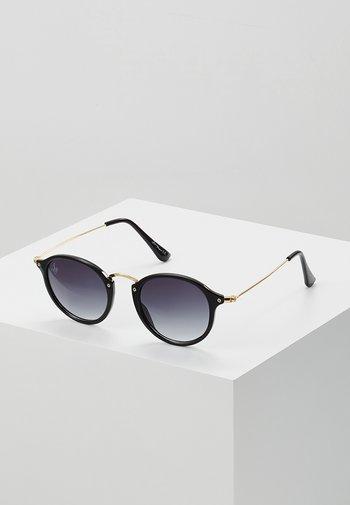 CASPER - Sunglasses - black/gold-coloured