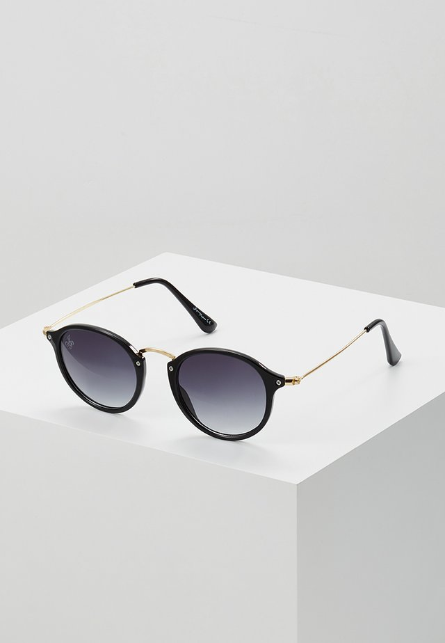CASPER - Sunglasses - black/gold-coloured