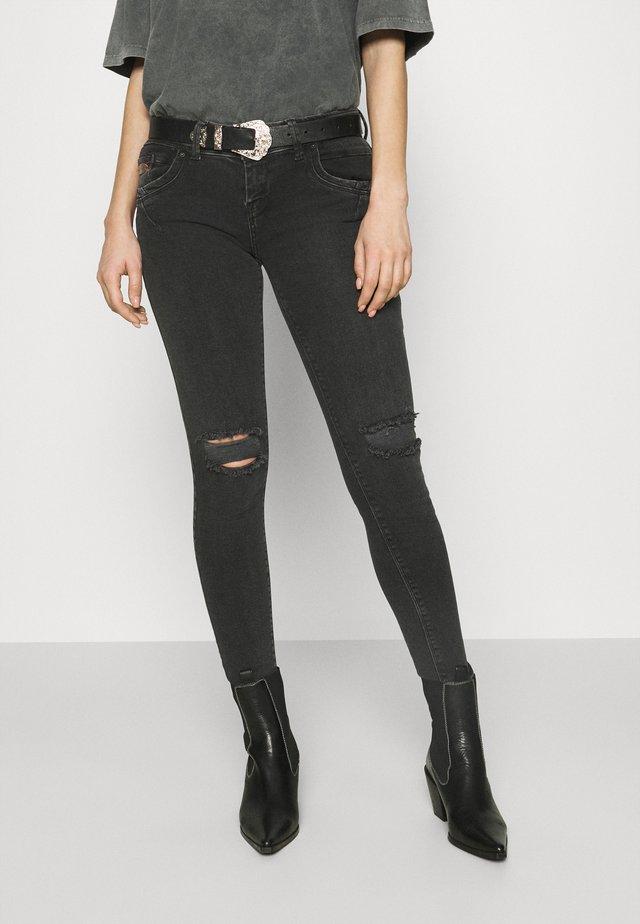 SENTA - Skinny džíny - black denim