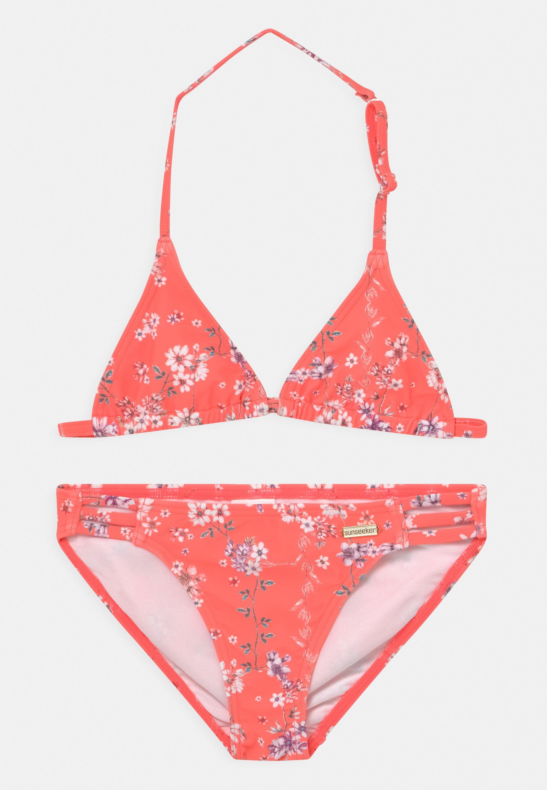Kinder TRIANGLE DITSY SUN SET - Bikini