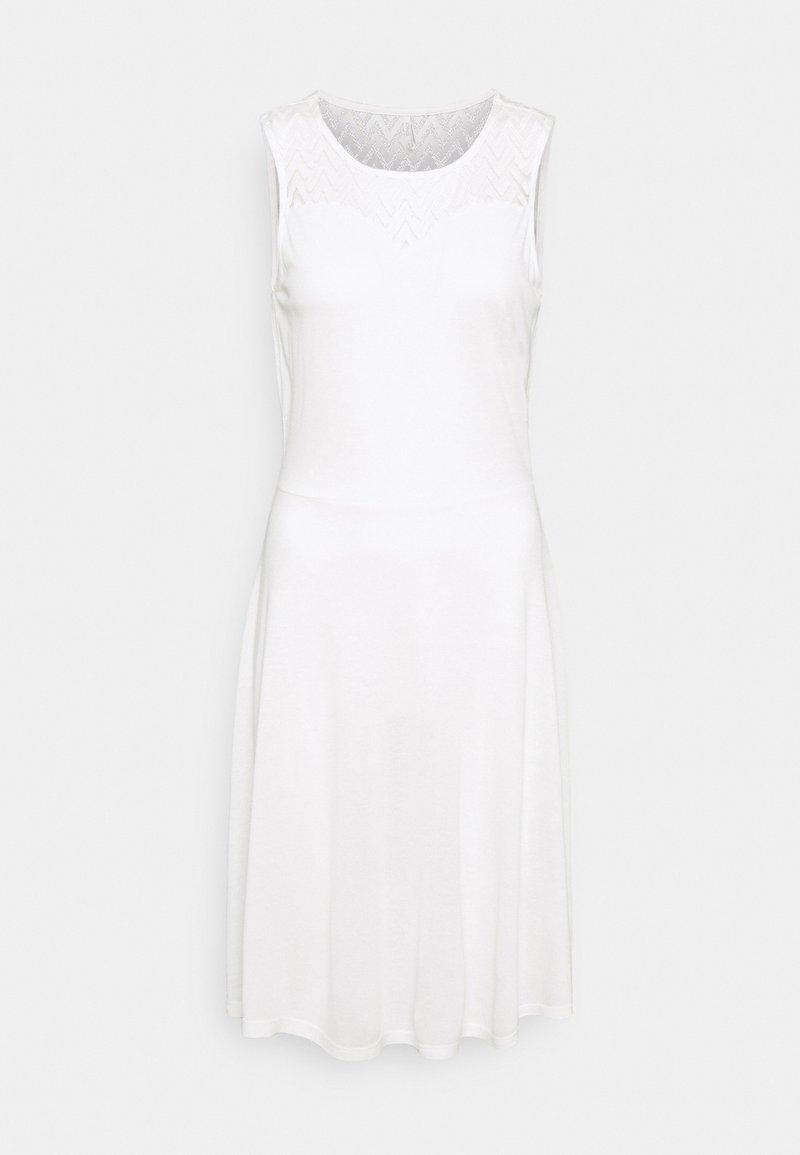 ONLY Tall - ONLNEW NICOLE LIFE DRESS - Jersey dress - cloud dancer