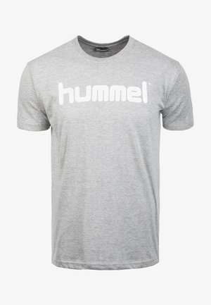 HMLGO - Print T-shirt - grey