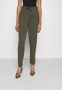 JDY - JDYCATIA NEW PANT - Tracksuit bottoms - forest night - 0