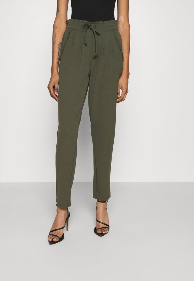 JDYCATIA NEW PANT - Pantalones - forest night