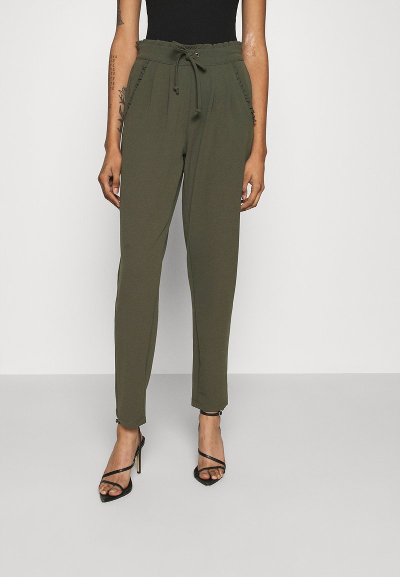 JDY - JDYCATIA NEW PANT - Tracksuit bottoms - forest night
