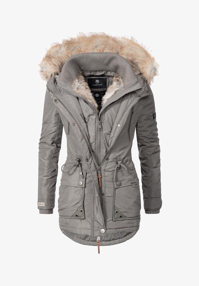 GRINSEKATZE - Winter coat - grau