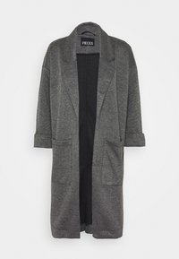 Pieces Petite - PCDORITA COATIGAN NOOS - Classic coat - dark grey - 4