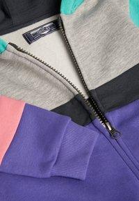Next - MULTI COLOURBLOCK HOODY/JOGGERS SET (3MTHS-7YRS) - Zip-up hoodie - purple - 5