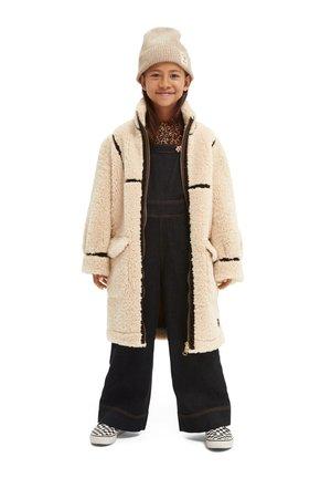 LONGER LENGTH BONDED COAT - Winter coat - off white